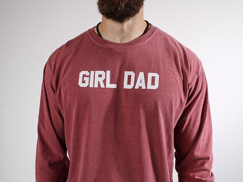 Girl Dad Men's Shirt V1 Dyed LS