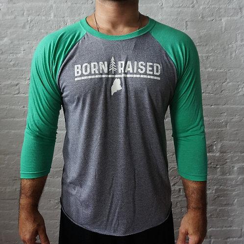 Born and Raised Unisex 3/4 Shirt