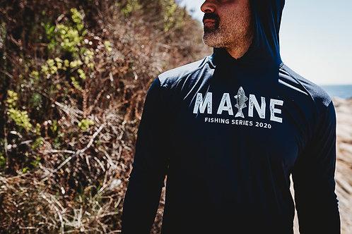 Maine Fishing Cool Dry Hoodie