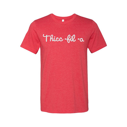Thicc-Fil-A Men's Shirt