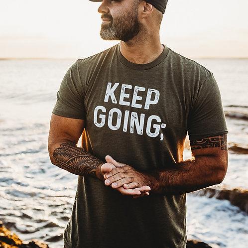 Men's Keep Going; Shirt V2