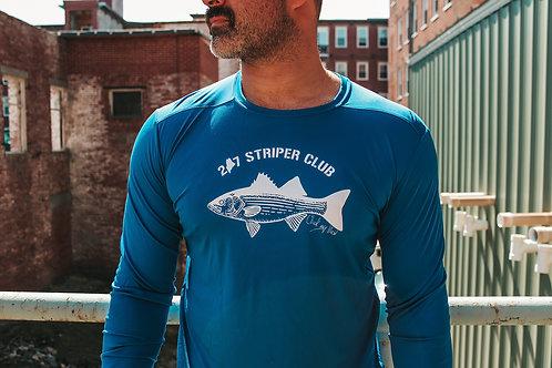 Unisex Striper Club Cool/UV Block Shirt