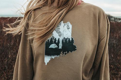 Base Camp Dyed Unisex Sweater