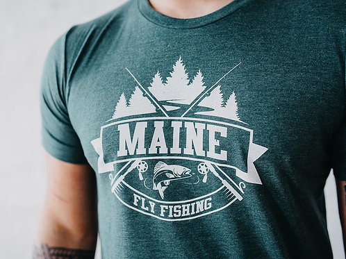 Men's Maine Fly Fishing Shirt