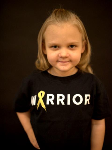 Warrior Ribbon Youth Shirt (Multicolor)