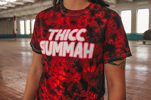 THICC Summah Unisex Tie Dye Shirt