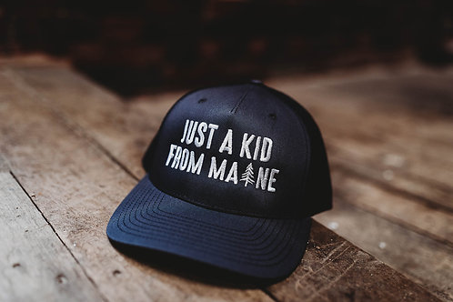 JAKFM Maine Mesh Back/Recycled Hat