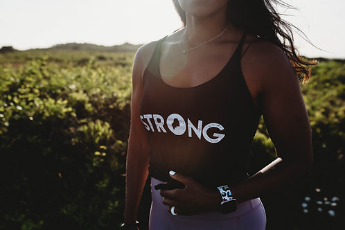Strong Women's Summer Racerback