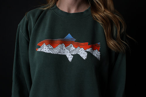 Into The Wild Unisex Dyed Sweater