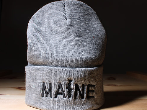 MAINE Fishing Knit Hat