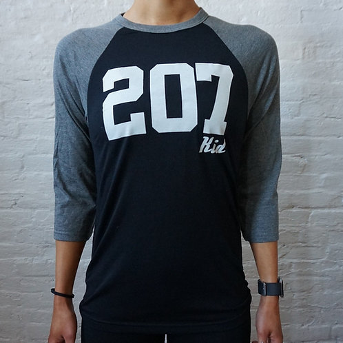207 Kid 3/4 Baseball Shirt
