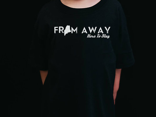 From Away Youth Shirt