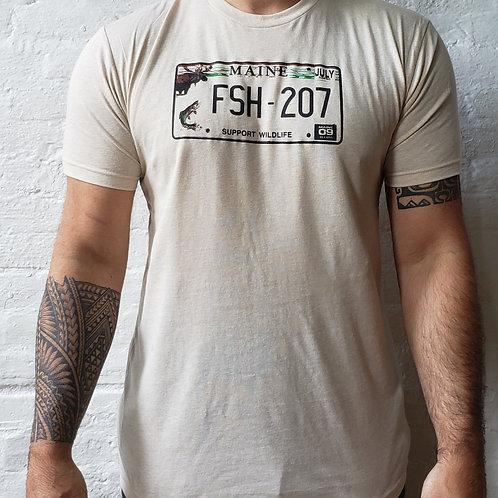 State Plates Fish 207 Men's Shirt