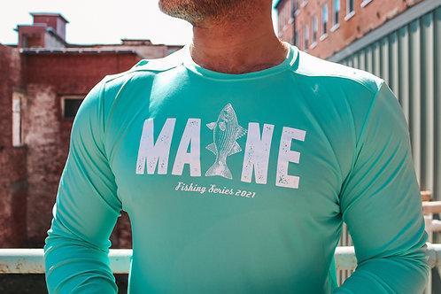 MAINE Unisex Fishing Cool/UV Block Shirt