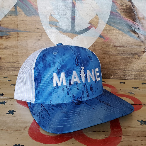 MAINE Fishing Series Trucker