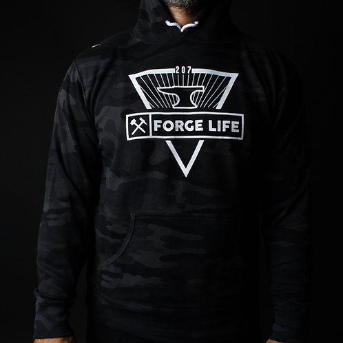 Forge Life Black Camo Unisex Hoodie