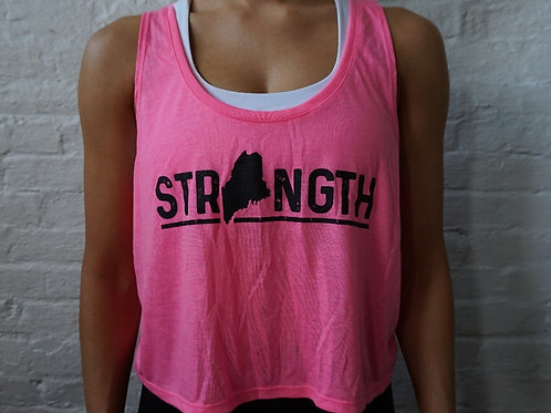 Strength Maine Crop Top