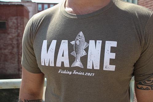 Men's MAINE Fishing Shirt 2021