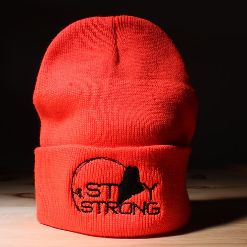 Stay Strong Knit Hat