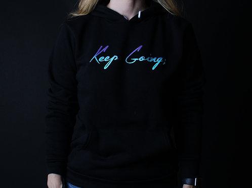 Keep Going: V1 Unisex Blended Hoodie