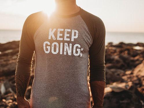 Keep Going V2; Unisex 3/4