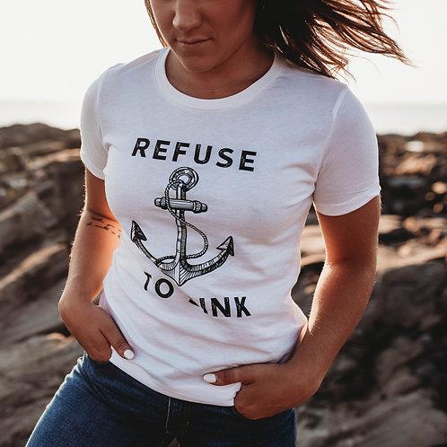 Refuse to Sink Women's Shirt V1