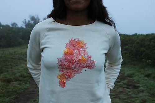 Fall Foliage Flowy Sweatshirt