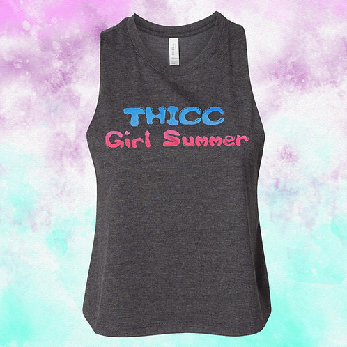 TGS Cropped Racerback