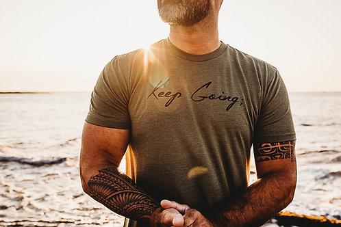 Men's Keep Going; Shirt V1