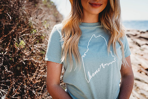 Always Home-Coastline Women's Shirt