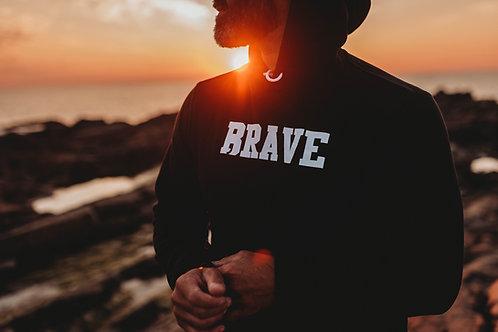 Brave; Men's Hoodie