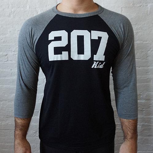 207 Kid Men's 3/4 Baseball Shirt V1