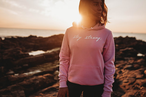 Stay Strong; Women's Hoodie