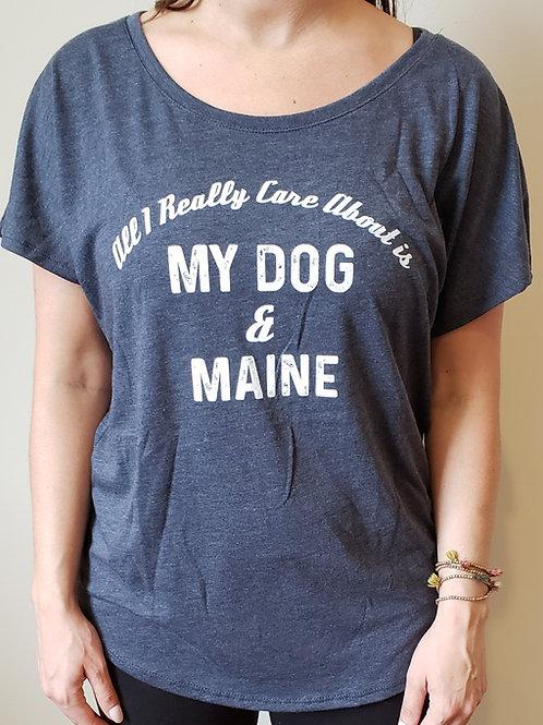 My Dog & Maine Dolman