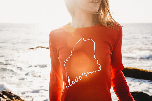 Maine Love Women's Thermal