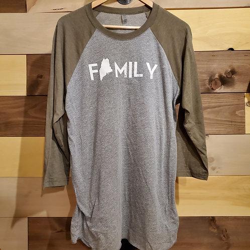 Unisex 3/4 Family Shirt