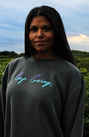 Keep Going: V1 Blended Unisex Dyed Sweater