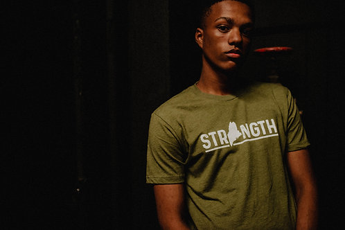 Strength Maine Men's T-Shirt