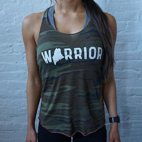 Warrior Maine Eco-Camo Racerback
