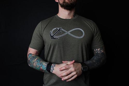 Infinity Anchor Men's Shirt