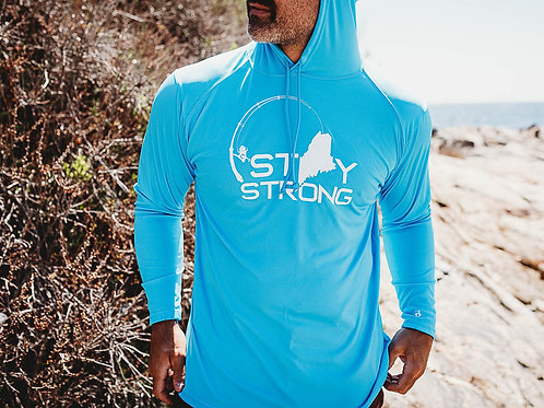 Stay Strong Unisex Cool Dry Hoodie