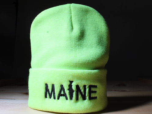MAINE Fishing Knit Hat