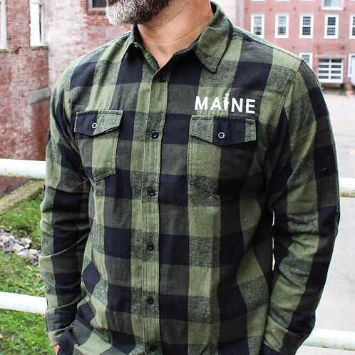 MAINE Fishing Unisex Flannel