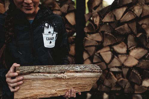 Camp Mug Unisex 1/2 Zip Windbreaker
