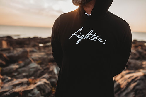 Fighter; Men's Hoodie