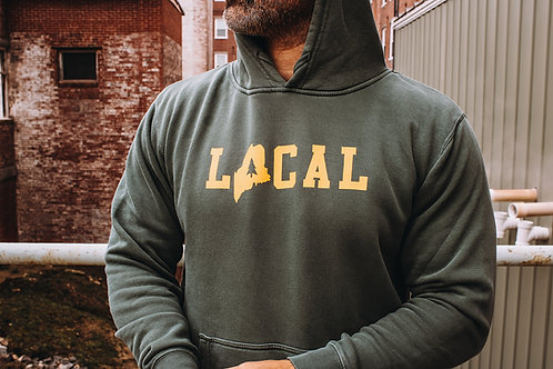 Local Unisex Pigment Dyed Hoodie