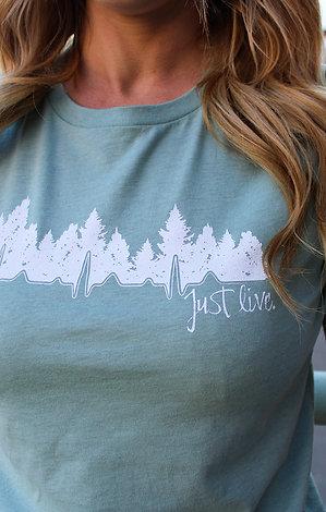 Just Live Women's Shirt