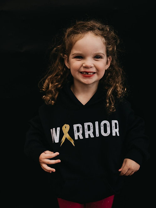 Warrior Ribbon Youth Hoodie (Mulitcolor)