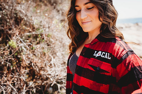 Local Unisex Flannel (Sleeve Option)