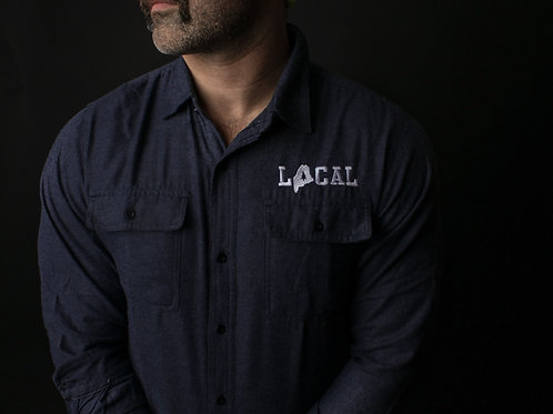 Solid Unisex Local Flannel